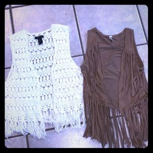 Size 5/6 vest jackets